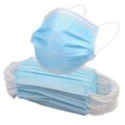3 ply face masks disposable
