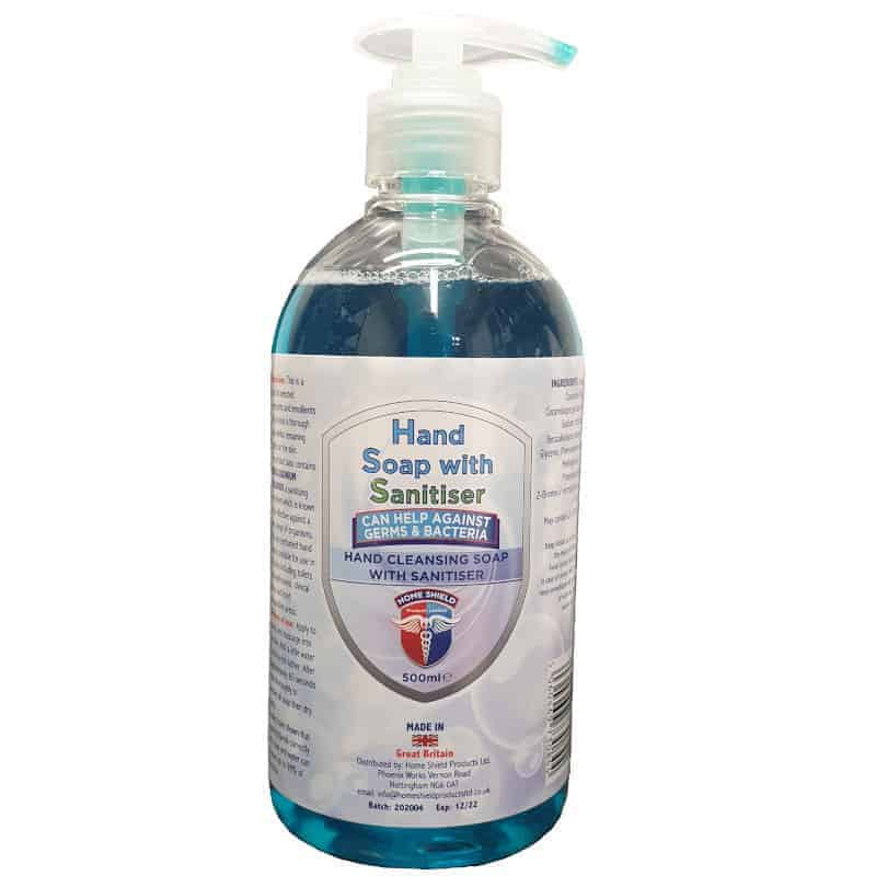 Home Shield Hand Soap With Sanitiser