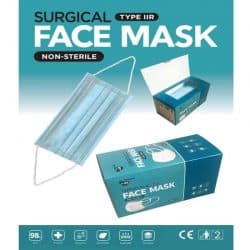 Type IIR surical face mask packing